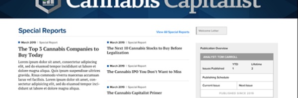 Cannabis Capitalist Review – Is Tom Carroll's Cannabis Capitalist Portfolio Legit?