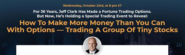 Jeff Clark's S-Force Method – FREE Trading Event