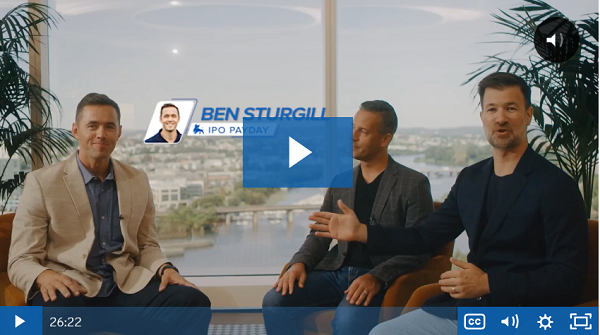 Ben Sturgill's IPO Payday
