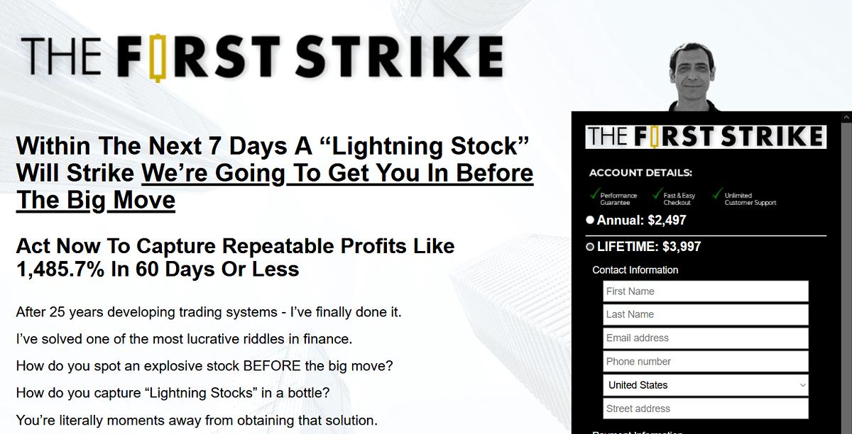 Roger Scott First Strike Portfolio Review – Is WealthPress Premium Service Legit?