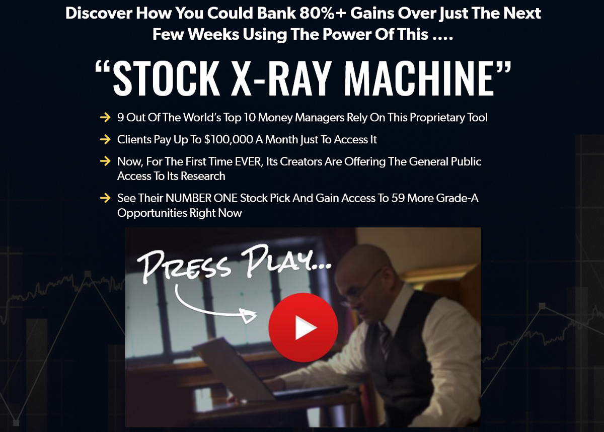 Joel Litman's Stock X-Ray Machine: Joel Litman's No. 1 recommendation revealed