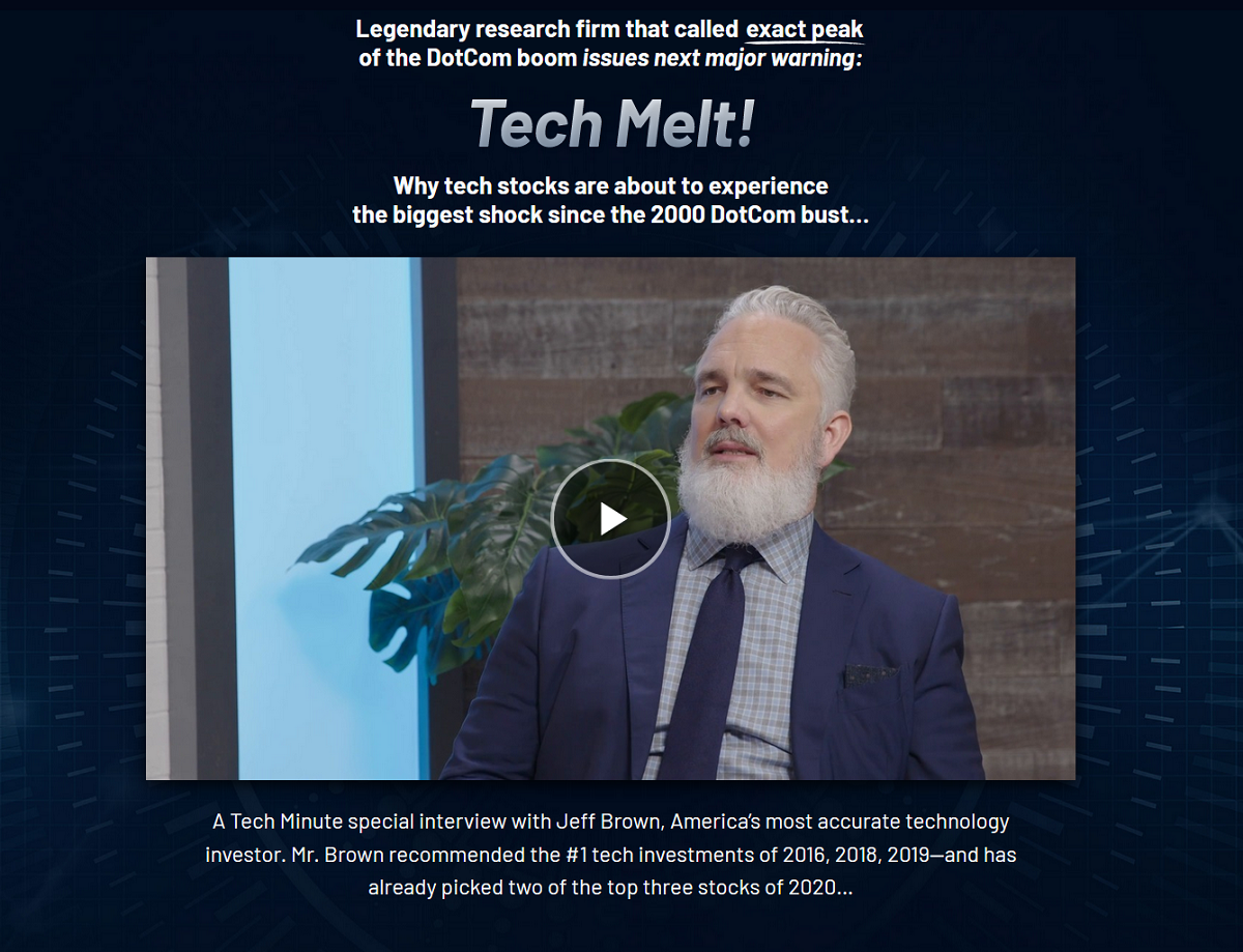 Jeff Brown Second Wave: Near Future Report – Tech Melt 2020
