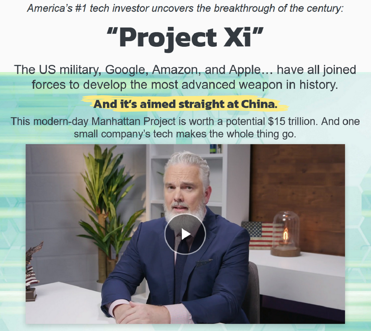 Jeff Brown's Project Xi Review: Hottest Trends in Tech?