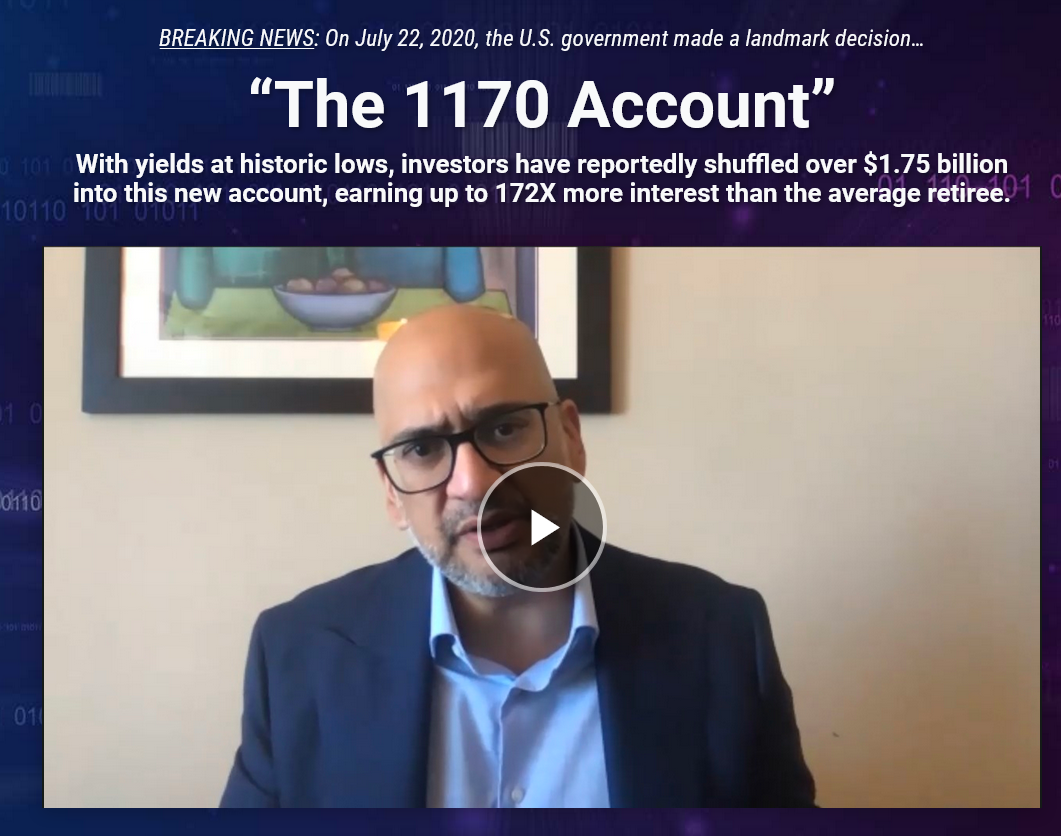 "Teeka Tiwari Palm Beach Letter: How to earn up to 8.6% on the new ""1170"" Account?"