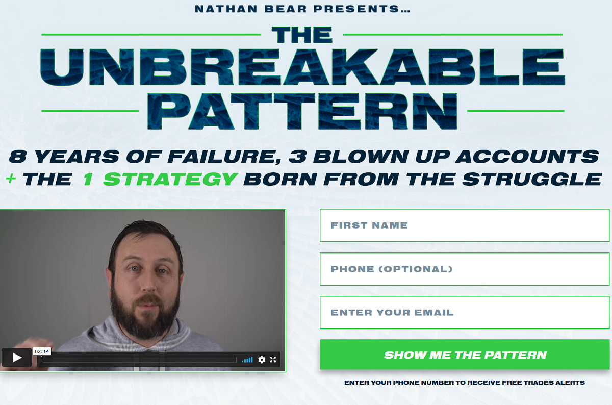 Nathan Bear The Unbreakable Pattern Options Trading Strategy Revealed