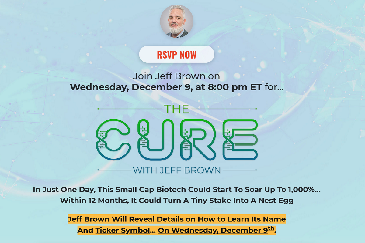 The Cure Event Review: Is Jeff Brown's Event Legit?