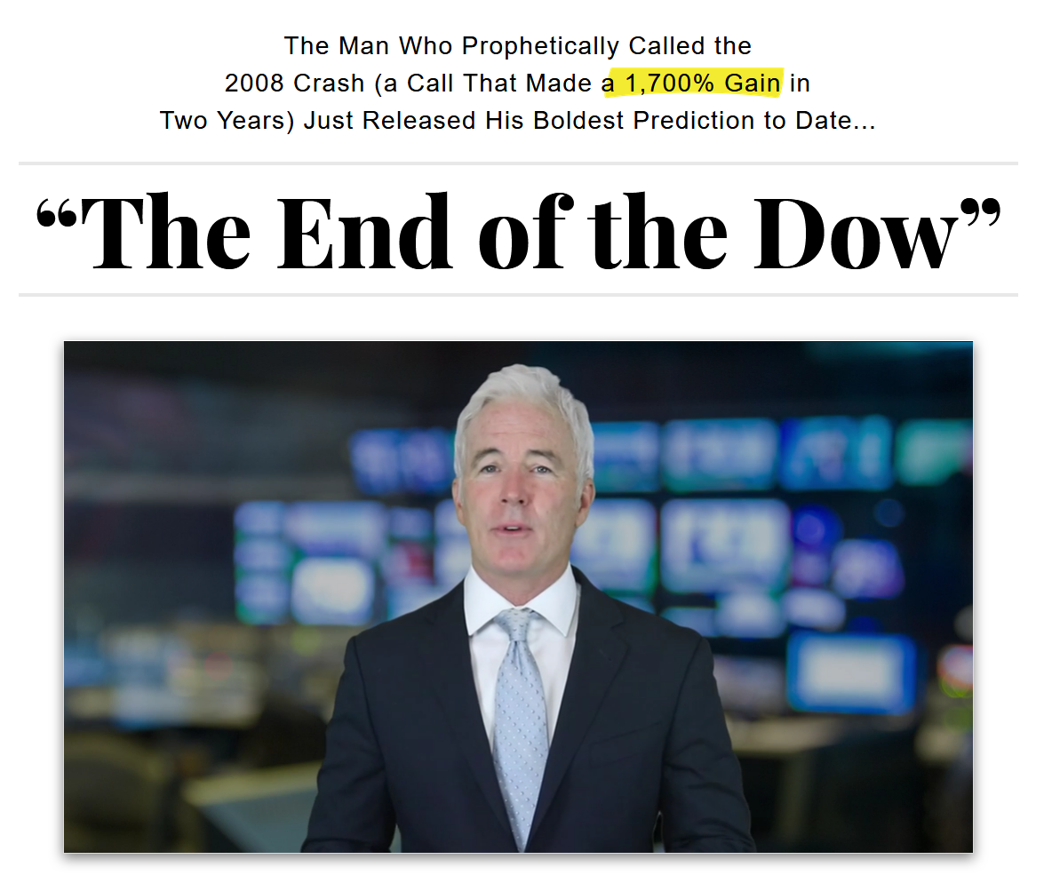 Ian King The End Of The Dow