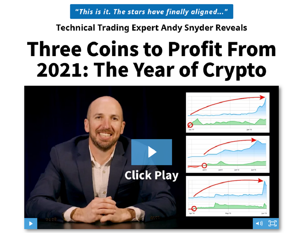 Andy Snyder's Alpha Money Flow: Three Coins to Profit From 2021